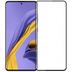 """Mocolo"" Tempered Glass apsauginis ekrano stiklas 0.26 mm - juodas (Galaxy A71 / Note10 Lite)"