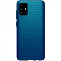 """Nillkin"" Frosted Shield dėklas - mėlynas (Galaxy A71)"