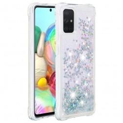 """""""Shine"""" kieto silikono (TPU) dėklas - skaidrus (Galaxy A71)"""