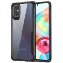 """""""Armor"""" dėklas - skaidrus / juodas (Galaxy A71)"""