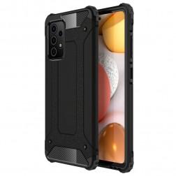 Sustiprintos apsaugos dėklas - juodas (Galaxy A72)
