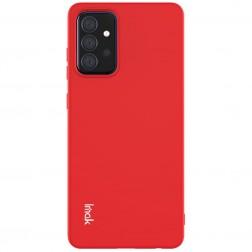 """""""Imak"""" kieto silikono (TPU) dėklas - raudonas (Galaxy A72)"""