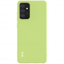 """""""Imak"""" kieto silikono (TPU) dėklas - žalias (Galaxy A72)"""