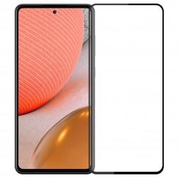 """""""Mofi"""" Tempered Glass apsauginis ekrano stiklas 2.5D - juodas (Galaxy A72)"""