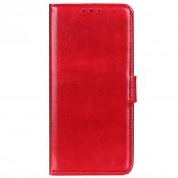 Atverčiamas dėklas - raudonas (Galaxy A72)