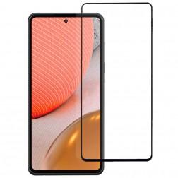 """""""Rurihai"""" Tempered Glass apsauginis ekrano stiklas 0.26 mm - juodas (Galaxy A72 5G / A72 4G)"""