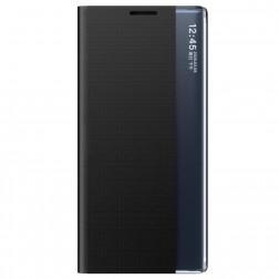 """""""View Line"""" atverčiamas dėklas - juodas (Galaxy A72)"""