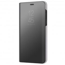 Plastikinis atverčiamas dėklas - juodas (Galaxy A8 2018)
