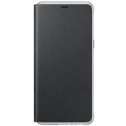 """""""Samsung"""" Neon Flip Cover atverčiamas dėklas - juodas (Galaxy A8 2018)"""