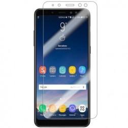 """""""ISME"""" apsauginė ekrano plėvelė (pilnai dengianti) - skaidri (Galaxy A8 2018)"""