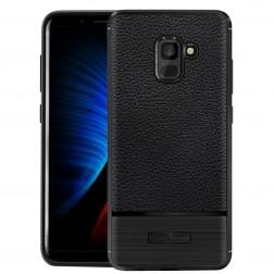 """""""Armor"""" kieto silikono (TPU) dėklas - juodas (Galaxy A8 2018)"""