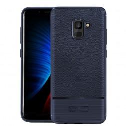 """Armor"" kieto silikono (TPU) dėklas - mėlynas (Galaxy A8 2018)"