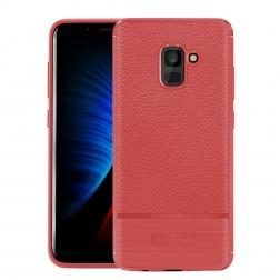 """""""Armor"""" kieto silikono (TPU) dėklas - raudonas (Galaxy A8 2018)"""