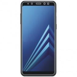 """""""ISME"""" apsauginė ekrano plėvelė (pilnai dengianti) - skaidri (Galaxy A8+ 2018)"""
