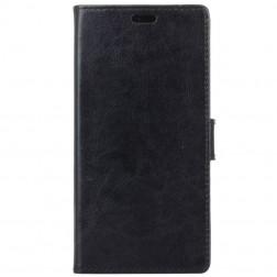 Atverčiamas dėklas, knygutė - juodas (Galaxy A8+ 2018)