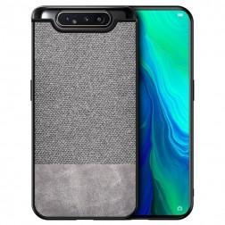 """""""Bi-Color"""" Splicing dėklas - pilkas (Galaxy A80)"""