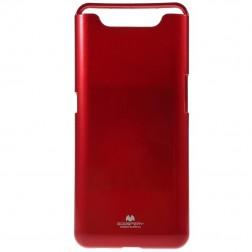 """""""Mercury"""" dėklas - raudonas (Galaxy A80)"""