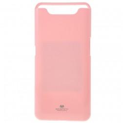 """""""Mercury"""" dėklas - rožinis (Galaxy A80)"""