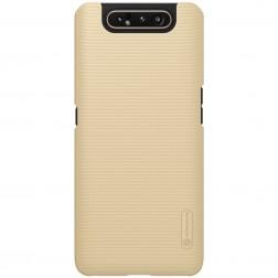 """Nillkin"" Frosted Shield dėklas - auksinis (Galaxy A80)"