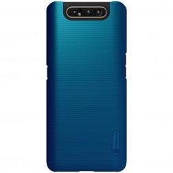 """Nillkin"" Frosted Shield dėklas - mėlynas (Galaxy A80)"