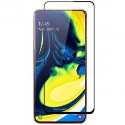 """""""Rurihai"""" Tempered Glass apsauginis ekrano stiklas 0.26 mm - juodas (Galaxy A80)"""
