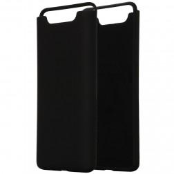 """""""Shell"""" kieto silikono (TPU) dėklas - juodas (Galaxy A80)"""