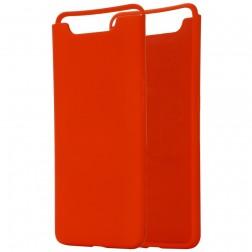 """""""Shell"""" kieto silikono (TPU) dėklas - raudonas (Galaxy A80)"""