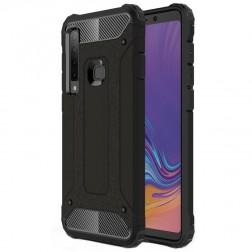 Sustiprintos apsaugos dėklas - juodas (Galaxy A9 2018)