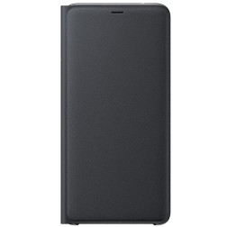 """""""Samsung"""" Wallet Cover atverčiamas dėklas - juodas (Galaxy A9 2018)"""
