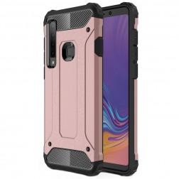 Sustiprintos apsaugos dėklas - rožinis (Galaxy A9 2018)