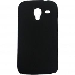 Plastikinis dėklas - juodas (Galaxy Ace 2)