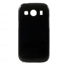 Kieto silikono dėklas - juodas (Galaxy Ace 4)