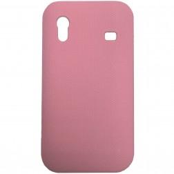 Plastikinis dėklas - rožinis (Galaxy Ace)