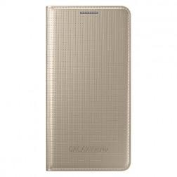 """""""Samsung"""" Flip Cover atverčiamas dėklas - auksinis (Galaxy Alpha)"""