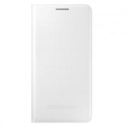 """""""Samsung"""" Flip Cover atverčiamas dėklas - baltas (Galaxy Alpha)"""