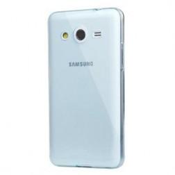 Plastikinis dėklas - skaidrus (Galaxy Core 2)