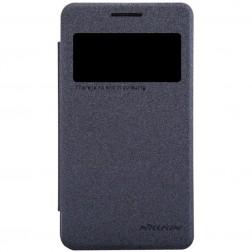 """""""Nillkin"""" Sparkle atverčiamas dėklas - pilkas (Galaxy Core 2)"""