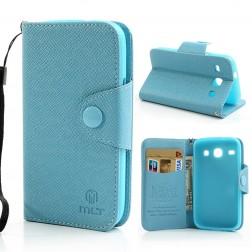 """""""MLT"""" atverčiamas dėklas - mėlynas (Galaxy Core)"""