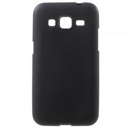 Kieto silikono (TPU) dėklas - juodas (Galaxy Core Prime)