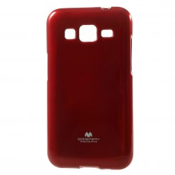 """""""Mercury"""" dėklas - raudonas (Galaxy Core Prime)"""