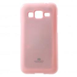 """""""Mercury"""" dėklas - šviesiai rožinis (Galaxy Core Prime)"""