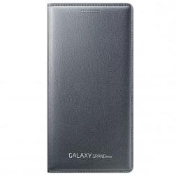 """""""Samsung"""" Flip Wallet Cover atverčiamas dėklas - juodas (Galaxy Grand Prime)"""