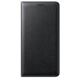 """""""Samsung"""" Flip Wallet Cover atverčiamas dėklas - juodas (Galaxy J1 2016)"""