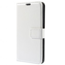 Atverčiamas dėklas - baltas (Galaxy J1 Ace)