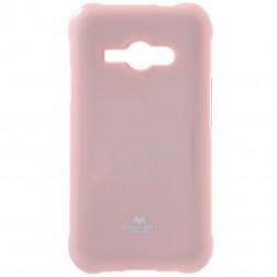 """""""Mercury"""" dėklas - šviesiai rožinis (Galaxy J1 Ace)"""