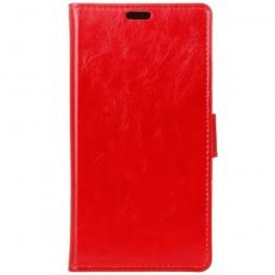 Atverčiamas dėklas - raudonas (Galaxy J1 mini)