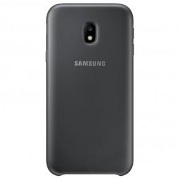 """""""Samsung"""" Dual Layer Cover dėklas - juodas (Galaxy J3 2017)"""
