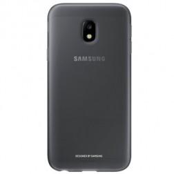 """""""Samsung"""" Jelly Cover TPU dėklas - juodas (Galaxy J3 2017)"""