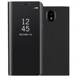 Plastikinis atverčiamas dėklas - juodas (Galaxy J3 2017)