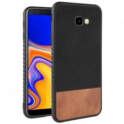 """""""Bi-Color"""" Splicing dėklas - rudas / juodas (Galaxy J4+)"""